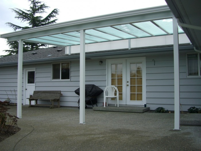 Aluminum/Acrylic Patio Covers